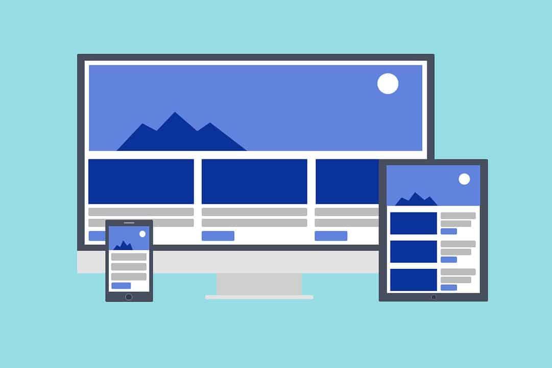 responsive, web pages, websites