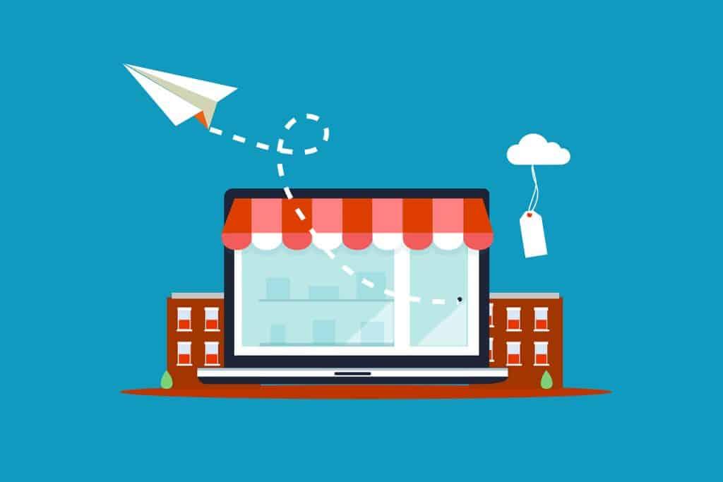 store, online, ecommerce